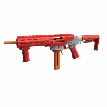 Game Face Havoc Prime Spring Powered Foam Dart Blaster-Red