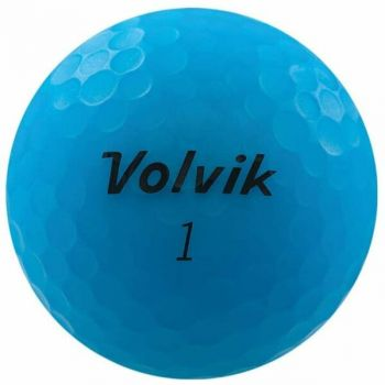 Volvik 2020 Vivid 3 Pc Golf Balls Matte Blue