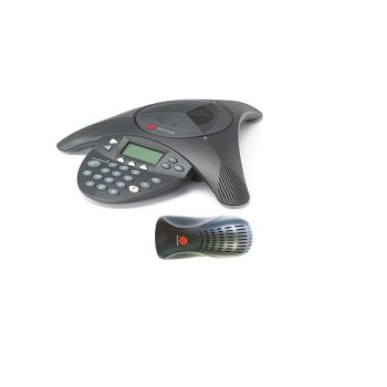 Polycom SoundStation2 (Non Expandable) Conference Phone w/ Caller ID 2200-16000-001