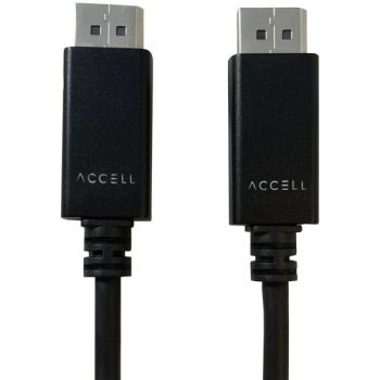 Accell B088C-007B-23 DisplayPort to DisplayPort 1.4 Cable, 6.6 Feet