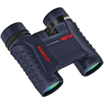 TASCO(R) 200125 Offshore 10x 25mm Waterproof Folding Roof Prism Binoculars