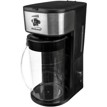 BRENTWOOD(R) APPLIANCES KT-2150BK Iced Tea and Coffee Maker (Black)