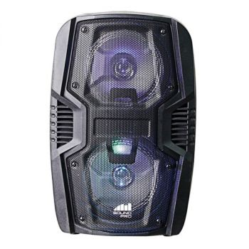 NAXA(R) NDS-6005 Portable 6.5-Inch Dual Party Speakers and Disco Light