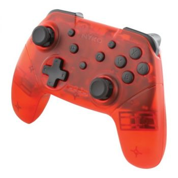 Nyko 87261 Wireless Core Controller for Nintendo Switch (Red)
