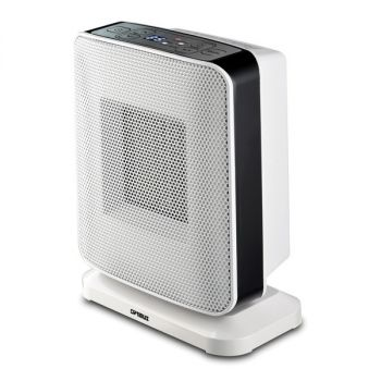 Optimus H-7245 Portable Oscillation Ceramic Heater with Thermostat and LED