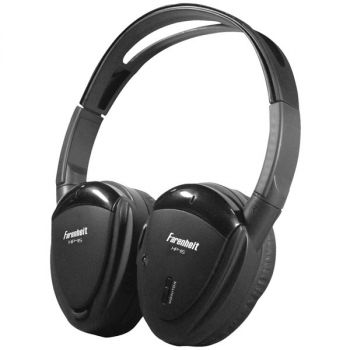 Power Acoustik HP-11S 1-Channel Wireless IR Headphones for Power Acoustik Mobile A/V Systems