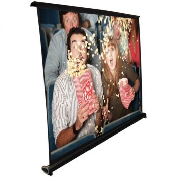 PYLE(R) PRJTP46 Retractable Pull-out-Style Manual Projector Screen (40-Inch)