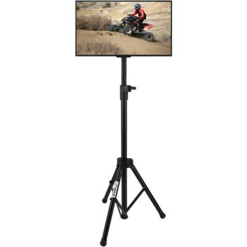 PYLE HOME(R) PTVSTNDPT3215 Portable Tripod TV Stand (Up to 32