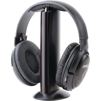 PYLE PRO(R) PHPW5 Professional 5-in-1 Wireless Headphone System with Microphone