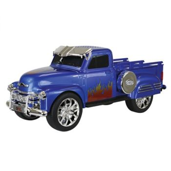 QFX(R) BT-1953BLU Chevy On the Go Light and Sound Bluetooth Speaker (Blue)