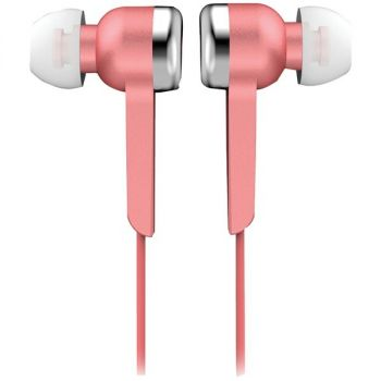 Supersonic IQ-113 PINK IQ-113 Digital Stereo Earphones (Pink)