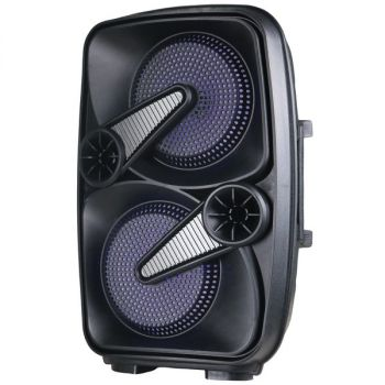 SUPERSONIC(R) IQ-7265DJBT- Grey 2 x 6.5-Inch Speaker with True Wireless Technology (Gray)