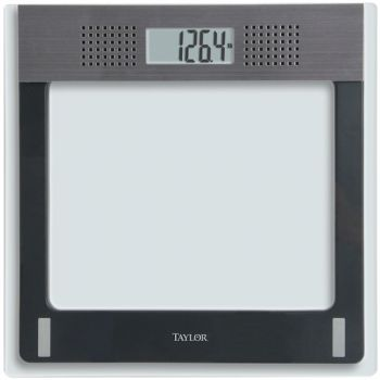 TAYLOR(R) PRECISION PRODUCTS 70844191M 7084 Talking Digital Scale
