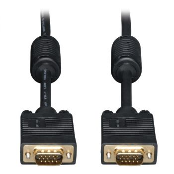 TRIPP LITE(R) P502-010 SVGA High-Resolution Coaxial Monitor Cable with RGB Coaxial (10ft)