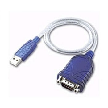 Cables To Go 26886 1.5 Feet USB To DB9 Male Serial Adapter - Blue