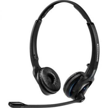 Sennheiser MB Pro 2 Headset - Stereo - Wireless - Bluetooth - 82 ft - 150 Hz - 15 kHz - Over-the-head - Binaural - Supra-aural - Noise Cancelling Microphone