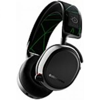 SteelSeries 61481 Arctis 9X Wireless Gaming Headset for Xbox - Stereo - Wireless - Bluetooth - 19.7 ft - 32 Ohm - 20 Hz - 20 kHz - Over-the-head - Binaural - Circumaural - Bi-directional, Noise Cancelling Microphone