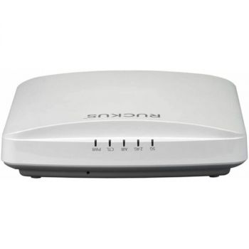 Ruckus ZoneFlex R650 901-R650-US00 Wireless Access Point - Dual-Band - ZigBee - Bluetooth - 3 Dbi - 2.5 GBps - 802.11ax - Power Over Ethernet - White