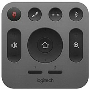 Logitech 993-001389 RF Wireless Replacement Remote for MeetUp Conference Camera - Gray