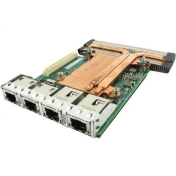 Dell 99GTM X540 Network Card - 2 x 10 GbE - Intel I350 DP Network Daughter Card - 4 Ports