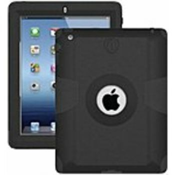 Trident Kraken AMS Carrying Case (Holster) for iPad - Black - Polycarbonate, Silicone
