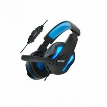 ENHANCE ENVOH7L100BLEW Voltaic PRO Gaming Headset - Full size - 7.1 Channel - Boom Microphone - Wired - USB