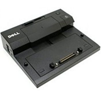 Dell PR03X E Port Plus Replicator Docking Station with 130 Watts AC Adapter for Dell E Series Laptop/Notebooks