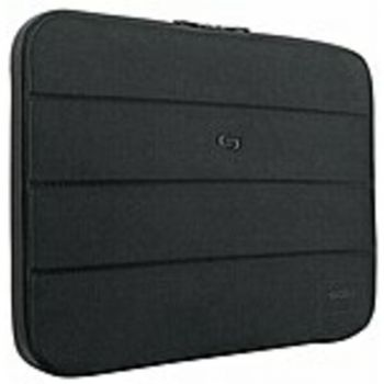 Solo PRO115-4 Carrying Case (Sleeve) for 15.6 Notebook - Black - Scratch Resistant Interior, Damage Resistant - Synthetic - Checkpoint Friendly - 11.3 Height x 16 Width