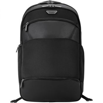 Targus Mobile ViP PSB862 Carrying Case (Backpack) for 15.6 Notebook - Black - Checkpoint Friendly - Shoulder Strap