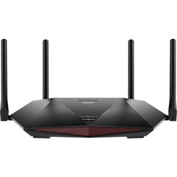 Netgear Nighthawk Pro Gaming XR1000 IEEE 802.11ax Ethernet Wireless Router - 4 x Antenna(4 x External) - 675 MB/s Wireless Speed - 4 x Network Port - 1 x Broadband Port - Desktop