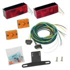 "Wesbar Waterproof Over 80"" Low Profile Trailer Light Kit"