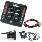 Lenco LED Indicator Two-Piece Tactile Switch Kit w/Pigtail f/Single Actuator Systems