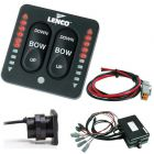 Lenco LED Indicator Two-Piece Tactile Switch Kit w/Pigtail f/Dual Actuator Systems