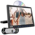 """PYLE(R) PLHRDVD904 9.4"""" LCD Universal Headrest Monitor with DVD/CD Player & IR & FM Transmitters"""