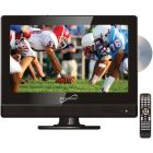 "Supersonic SC-1312 13.3"" 720p Widescreen LED HDTV/DVD Combination, AC/DC Compatible with RV/Boat"
