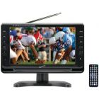 """SUPERSONIC(R) SC-499 9"""" TFT Portable Digital LCD TV, AC/DC Compatible with RV/Boat"""