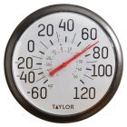 TAYLOR(R) PRECISION PRODUCTS 6700 13.25-Inch Big and Bold Dial Outdoor Thermometer